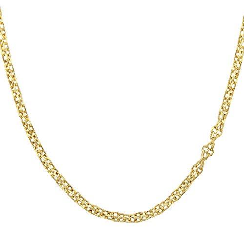 "Citerna - Collier - Or jaune - 46.0 cm - 050ASPD 18"""