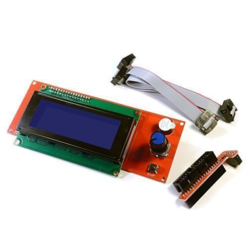 [REPRAPGURU] 2004 LCD Smart Display Controller Module with Adapter for 3D Printer Controller RAMPS 1.4 Arduino Mega Pololu Shield Arduino RepRap