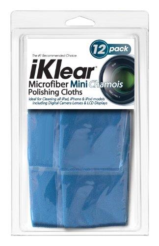 iKlear Travel Size Optical Grade Microfiber Cloths (iK-12Mini)