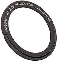 SZsic ホールドリング MagSafe対応 マグネット 両面テープ 金属リンクホルダー【MagSafe充電・磁力】薄型 マグネット式車載対応 安定感抜群 落下防止 スマホリング