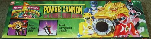Power Cannon Mighty Morphin Power Rangers - Rangers Morphin Weapons Power Mighty