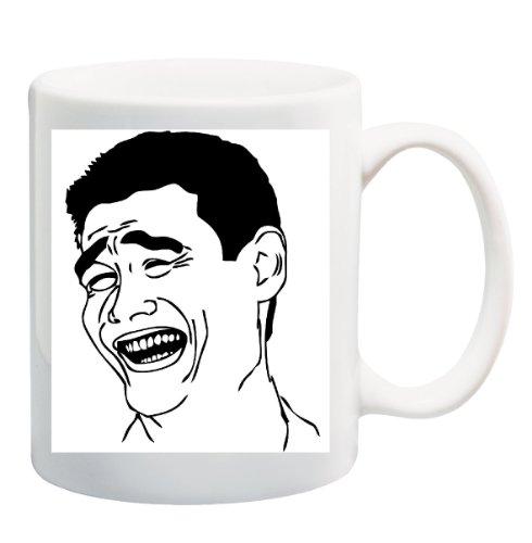 YAO MING FACE Mug Cup - 11 (Yao Ming Face)