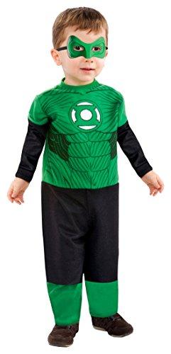Rubie's Costume Co Baby Boys' Green Lantern Hal Jordan Tiny Tikes, Multi, Toddler (Green Lantern Toddler Costume)