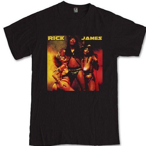 Rick James T-Shirt S M L XL 2XL 3XL musician and composer Tee Mary Jane Girls (XL)