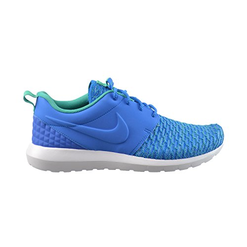 Nike Roshe One Nm Flyknit Premium Hommes Chaussures De Course Photo Bleu /  Soar-atomique