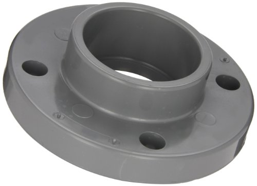 Spears 851-C Series CPVC Pipe Fitting, One Piece Flange, Class 150, 1