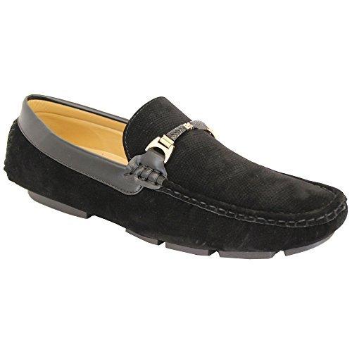 Hombre Mocasines Look Ante Zapatos Conducción Mocasines Sin Cordones Barco Lazo Italiano Nuevo: Amazon.es: Zapatos y complementos