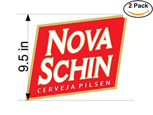 nova-schin-cerveja-pilsen-beer-logo-alcohol-4-vinyl-stickers-decal-bumper-window-bar-wall-95-inches