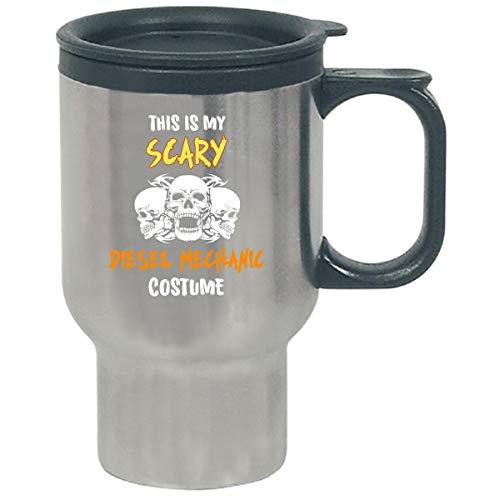 This Is My Scary Diesel Mechanic Costume Halloween Gift - Travel Mug