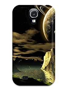 Tpu Shockproof Dirt Proof Space Art Cover Case For Galaxy S4