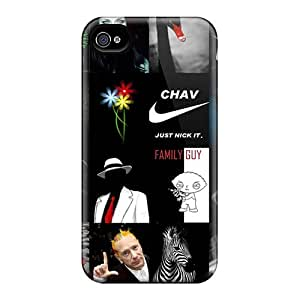 BCZ15535FpAC Phone Cases With Fashionable Look For Iphone 6 - Black