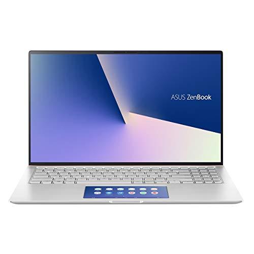 ASUS Zenbook UX534FTC-A8094T – Portátil de 15.6″ FullHD (Intel Core i7-10510U, 16GB RAM, 512GB SSD, GTX1650-4GB, Windows 10) Plata – Teclado QWERY Español