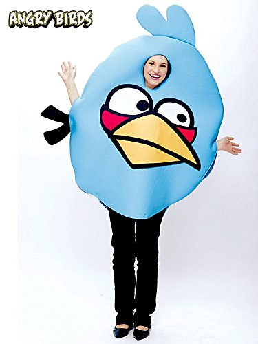 Paper Magic Angry Birds Costume, Blue, One Size -