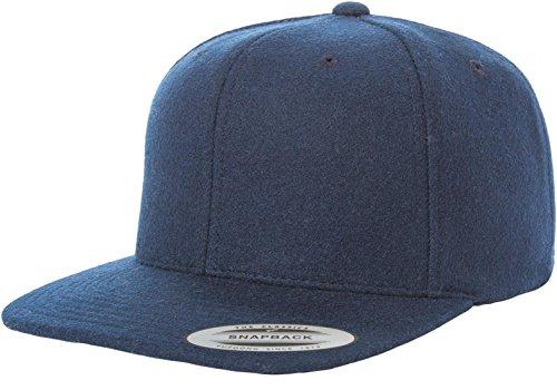 Novelty Hats Wholesale (Yupoong Flexfit 6689M Melton Wool Snapback Hat Wholesale)