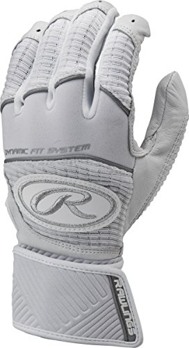 Rawlings Workhorse Adult Batting Gloves with Compression Strap