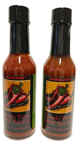 Jalapeno Chili Peppers (Trader Joes Jalapeno Pepper Hot Sauce, 2 Bottles)