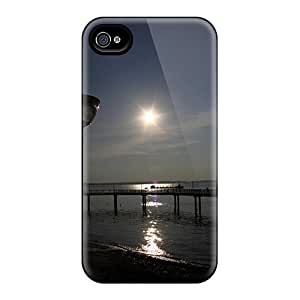 Anti-scratch And Shatterproof Sunset Phone Case For Iphone 4/4s/ High Quality Tpu Case