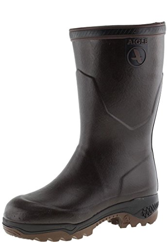 Work Bott Brun Brown Aigle 001 Parc2 Men Wellingtons Iso URTaTq