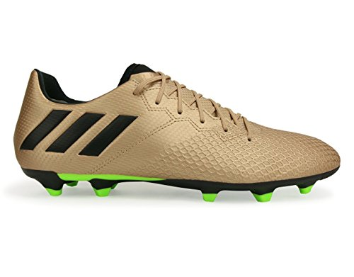 Adidas Mens Messi 16.3 Fg Copper Metallic/Core Black/Solar Green Soccer Shoes JGTiIA