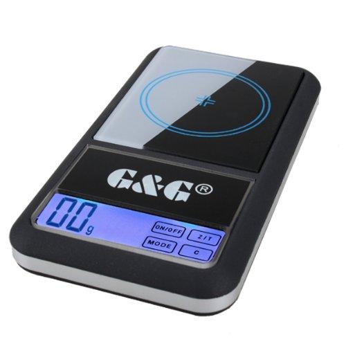 300G/0,01g Bilancia AS digitale tascabile, per oro/monete, G & g GundG