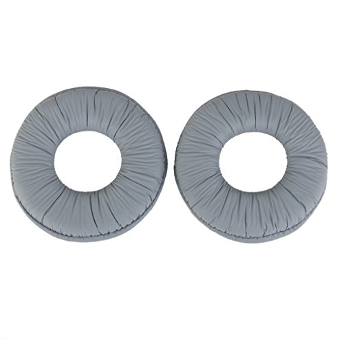 MagiDeal Ear Pads Cushions for Sony MDR ZX100 ZX300 Headset Headphone Grey