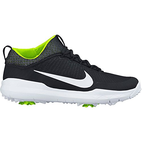 Premiere Golf Shoes - NIKE New Mens FI Premiere Golf Shoes Black/White / Volt Size 9 W