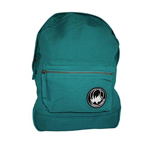 Organic Cotton Canvas Backpack. Fair Trade