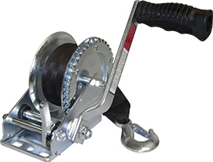 Capacity Fulton 500621 XLT Powered Winch with Wireless Remote-10,000 Lbs