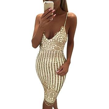 DioKlen - Vestido Sexy de Lujo, Vestido de Fiesta de Club, Encantador, Cuello