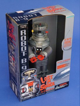 Classic Lost In Space B9 ROBOT Electronic light, sound, for sale  Delivered anywhere in USA