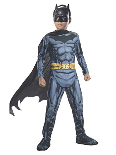 Rubies DC Super Heroes Child Batman Costume, Small (4-6) ()