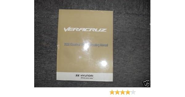 2008 hyundai veracruz service repair shop manual set 2 volume set rh amazon com 2008 Hyundai Veracruz Interior 2008 Hyundai Veracruz Problems