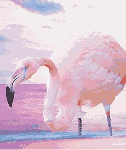 Zjkruoxin Peinture De Bricolage Par Nombre Spaints Sur Toile