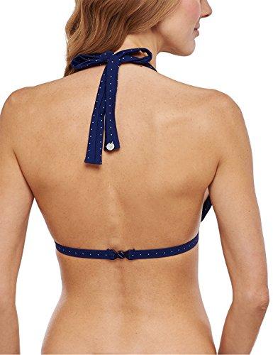 Schiesser Bikini Neckholder-top - Bikini Mujer azul (admiral 801)