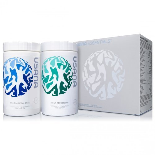 USANA Essentials Chelated Mineral and Mega Antioxidant by USANA: Amazon.es: Salud y cuidado personal