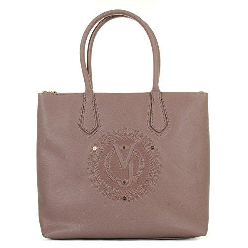 Versace Jeans Linea Q Dis 1 Saffiano Embossed, Bolsa de mano