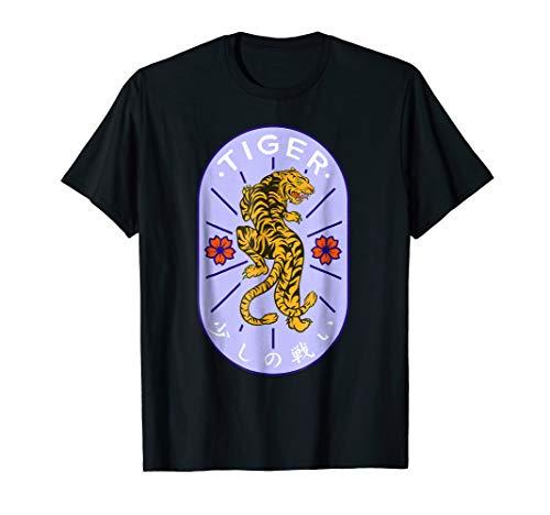 Fighting T-shirt Spirit (Asian Style Fighting Tiger Spirit Animal Men Women T-Shirt)