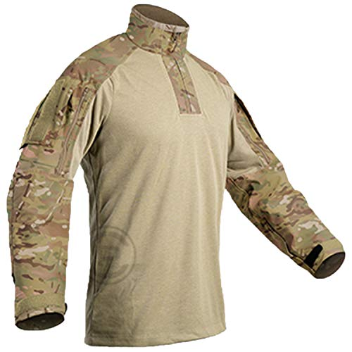 CRYE PRECISION, G3 All Weather Combat Shirt, Multicam, Large, Regular