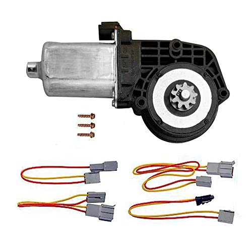 Power Window Lift Motor For Ford Bronco Country Squire Custom E-150 E-250 E-350 Econoline With Accessories For Front Right Replace Part # 742-251 ()