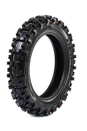 ProTrax PT1002 Motocross Off-Road Dirt Bike Tire 2.75-10 Front or Rear Soft/Intermediate Terrain (Pw50 Tires)