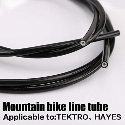 Utini 3m Mountain Bike Hydraulic Disc Brake Oil Tube Pipe Bicycle Brake Hose for Tektro/Hayes 2.5×5.4mm MTB Parts Bike Accessories