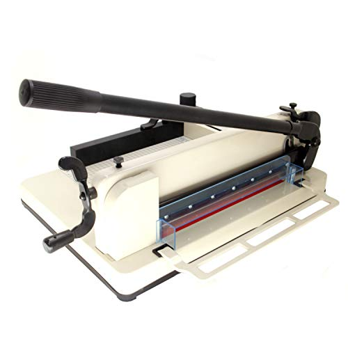 12' Guillotine Paper Trimmer - HFS (R) New Heavy Duty Guillotine Paper Cutter - 12