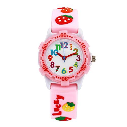 ELEOPTION Waterproof Silicone Wristwatches Children