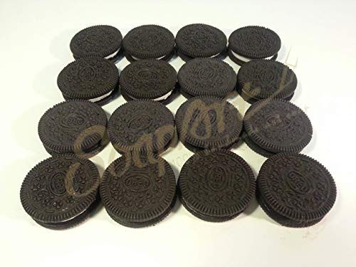 6 pieces oreo looking soap-handcrafted soap handmade soap cake soap oreo soap party gift biscuit mold soap food looking funny gag present food model
