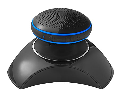 JAM Levity Wireless Levitating Speaker, Built-In Speakerphone, USB Charging Port Charges Devices, Speaker Levitates and Plays Music, Perfect for Parties, Gifts, Party Trick, HXP760 Black