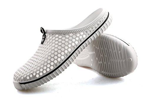 Coo & Mo Unisex Strand Sandal Hage Tette Sko Hvit