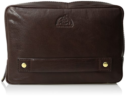 Dopp Men's Carson Compact Carry-On Kit-Leather, Expresso (Expresso Kit compare prices)