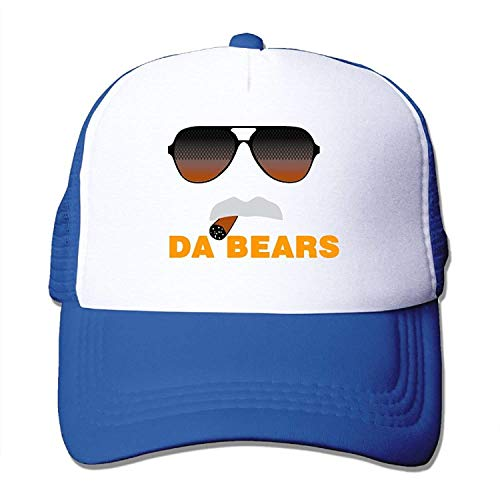 Da Bears Ditka Funny Chicago Mesh Trucker Caps/Hats Adjustable for Unisex Black
