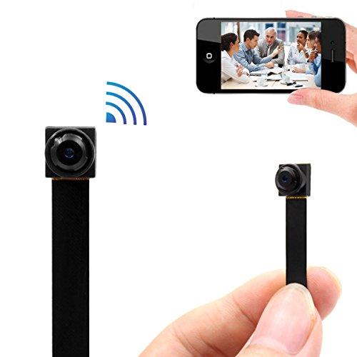 Mini Wireless WIFI Spy Hidden Camera