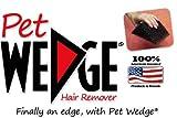 Pet Wedge Hair Remover- 2 Pack Pet Wedge & 2 Pack Mini-Pocket Pet Wedge